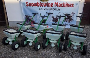 ClearSnow.ie salt spreaders for delivery to the Defense Forces